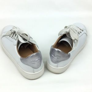UGG Shoes - UGG Milo Sneakers White Leather Silver Street